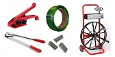 Polyester and Polyethylene Strapping, Strapping Tools and Strapping Kits